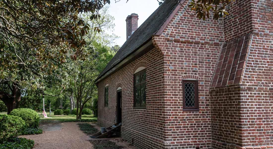 Side of Thoroughgood House